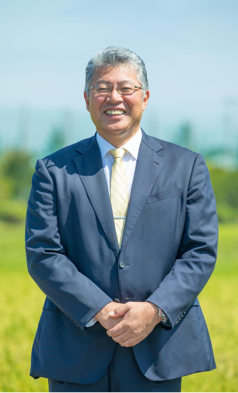 株式会社舞台ファーム 代表取締役 針生 信夫