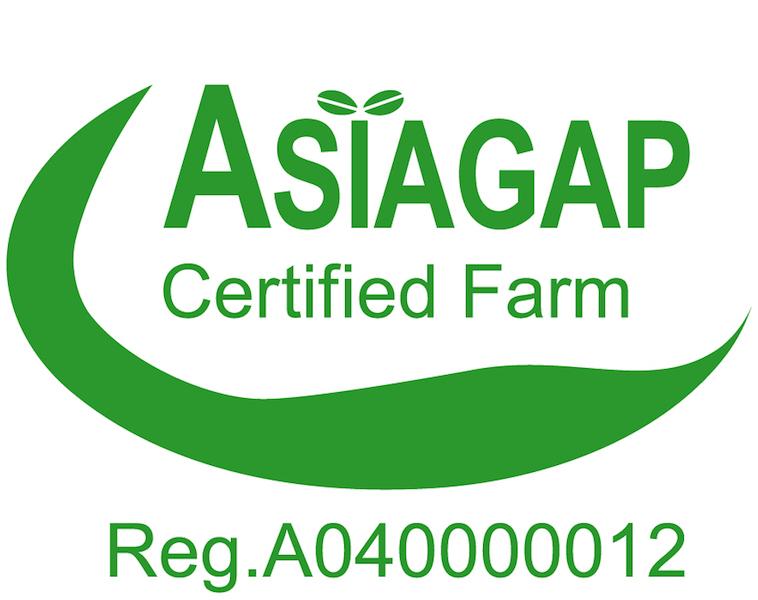 舞台ファーム ASIA GAP個別認証を取得